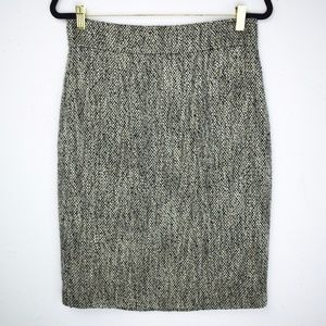 "NWT ""346"" Brooks Brothers Shimmer Boucle Skirt"
